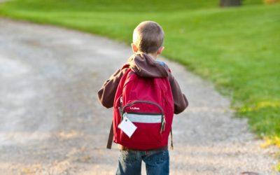 Wer mit dem Bus zur Schule fährt, hat gegenüber den Fußgängern und Radfahrern schon im Vorfeld die schlechteren Karten