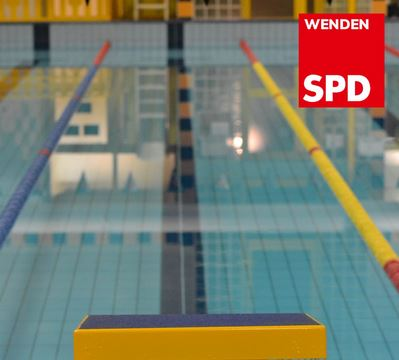 Diskussion um Schwimmbad
