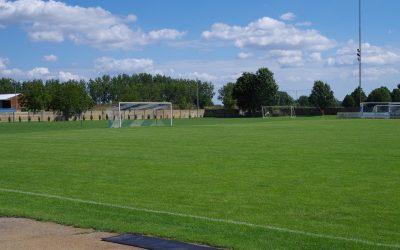 Besichtigung der Sportstätten in der Gemeinde